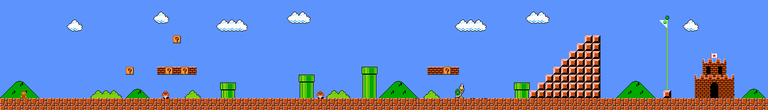 GitHub - justinmeister/Mario-Level-1: The first level of Super ...